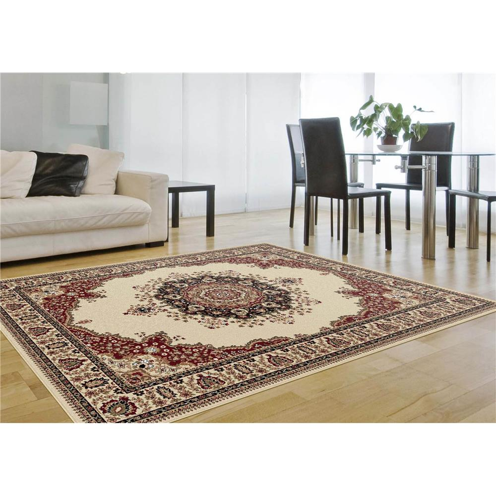 Tayse Rugs SNS4702 11x15 Fiona Rug in Ivory, 10