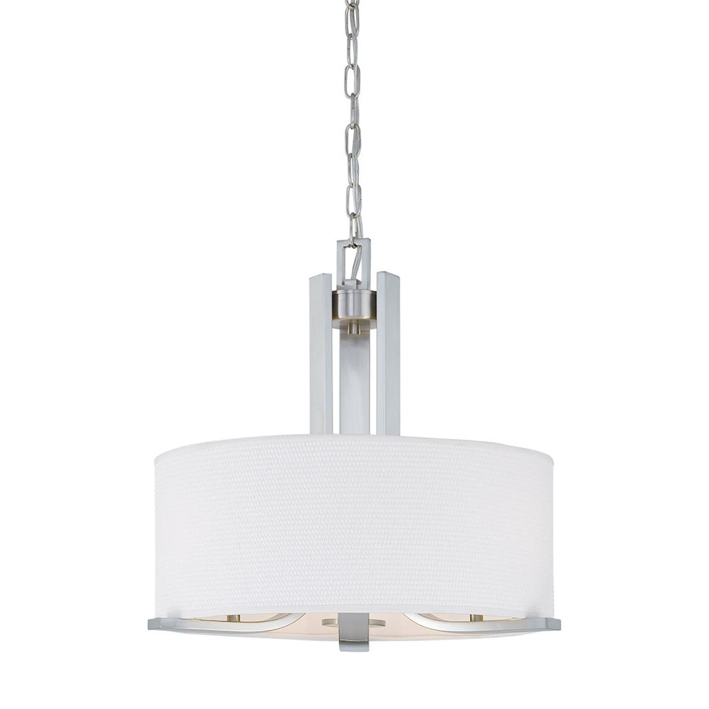 Thomas Lighting SL806678 Pendenza 3-light Chandelier in Brushed Nickel