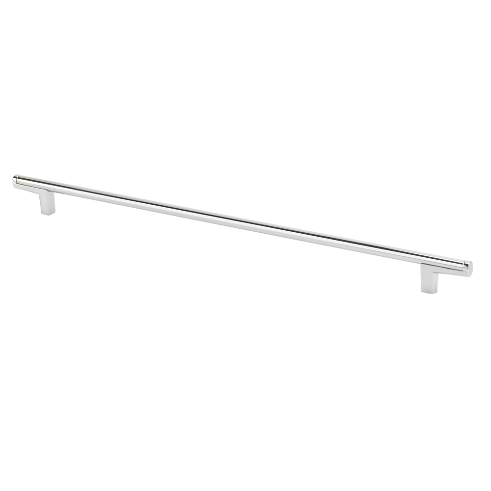 Topex 8-112103204040 Thin Round Bar Cabinet Pull Handle Bright Chrome 320Mm