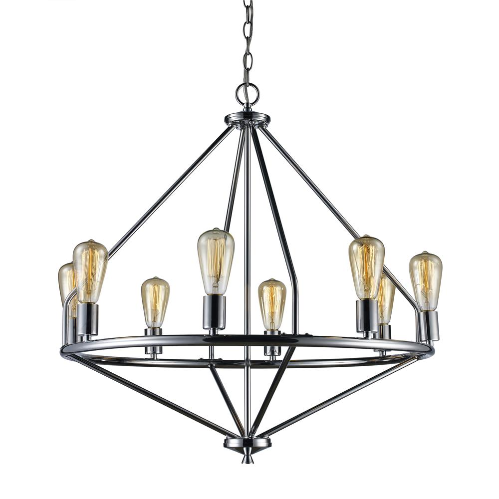 Brushed Nickel Bel Air Lighting Trans Globe Lighting 1050 BN Indoor Cadance 17.25 Pendant