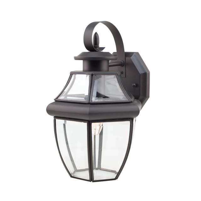 Trans Globe Lighting 4310 WB 1 Light Coach Lantern in Weathered Bronze