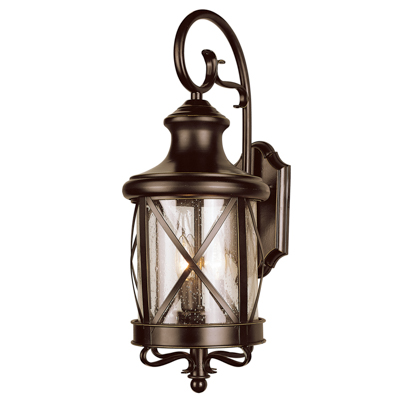 Trans Globe Lighting 5120 ROB 2 Light Coach Lantern in Rubbed Oil Bronze