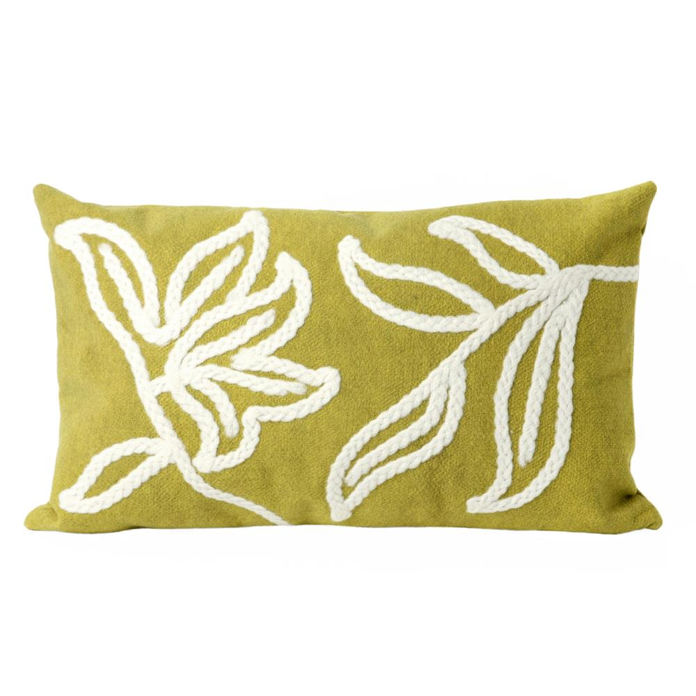 Liora Manne 7SA1S307606 VISIONS I WINDSOR LIME Pillow