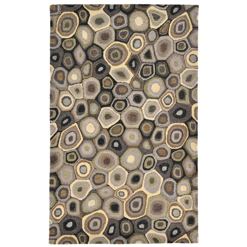 Liora Manne INC58944847 INCA POP SWIRLS GREY Indoor Rug