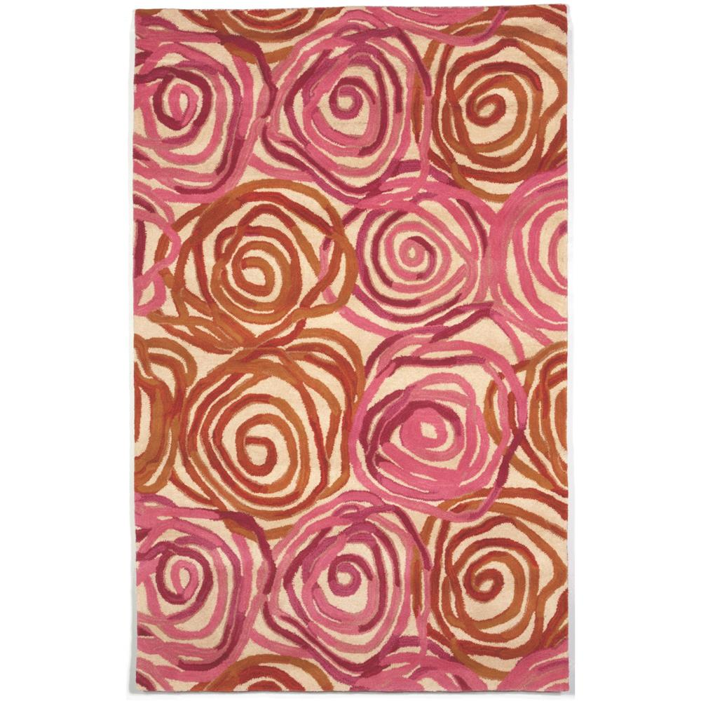 Liora Manne 8106/18 RAMBLING ROSE SUNSET Hand Tufted Indoor Area Rug in 9