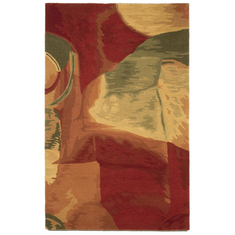 "Liora Manne 8108/24 SONIA FIRE Hand Tufted Indoor Area Rug in 42""X66"""