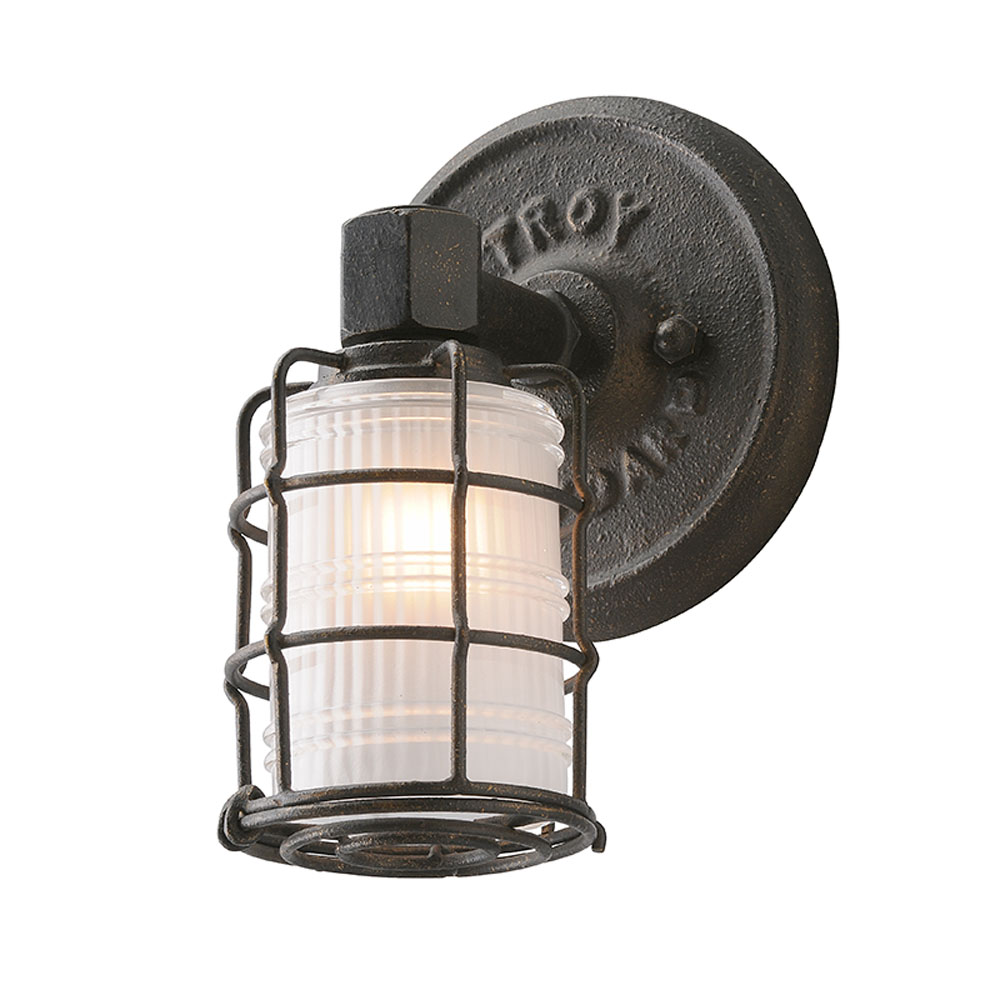 Troy Lighting B3841 Mercantile 1 Light Wall Bath in Vintage Bronze