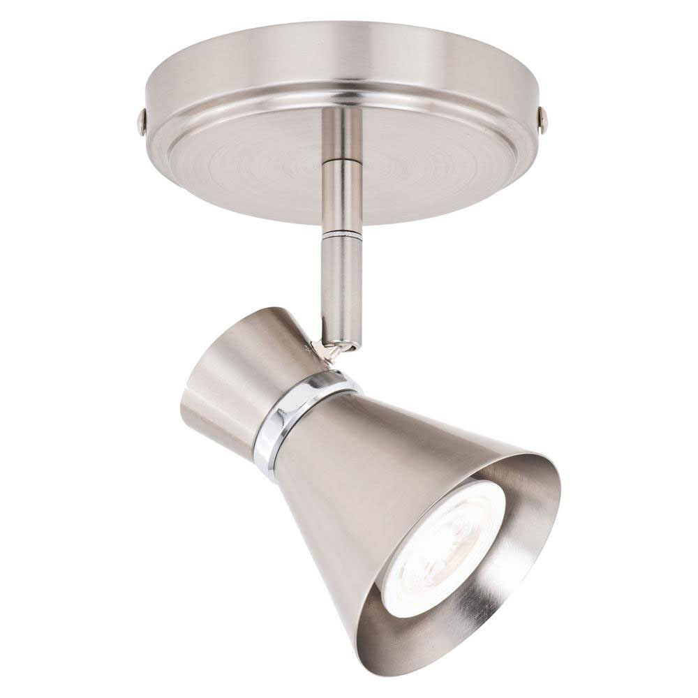 Vaxcel Lighting C0218 Alto 1 Light Directional Light Brushed Nickel