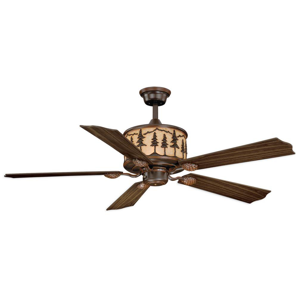 "Vaxcel Lighting F0011 Yosemite 56"" Ceiling Fan Burnished Bronze"