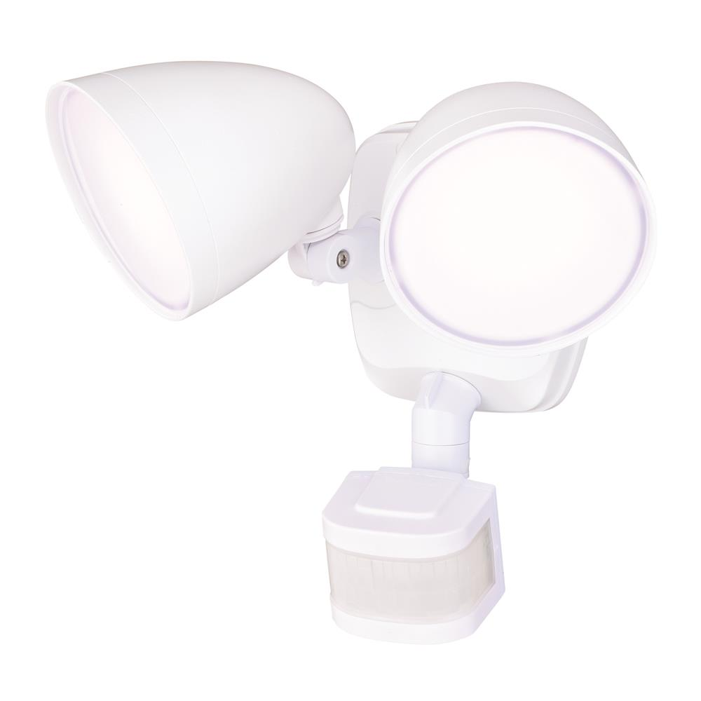 Vaxcel Lighting T0298 Tau Dualux 3000K LED Security Light  - White