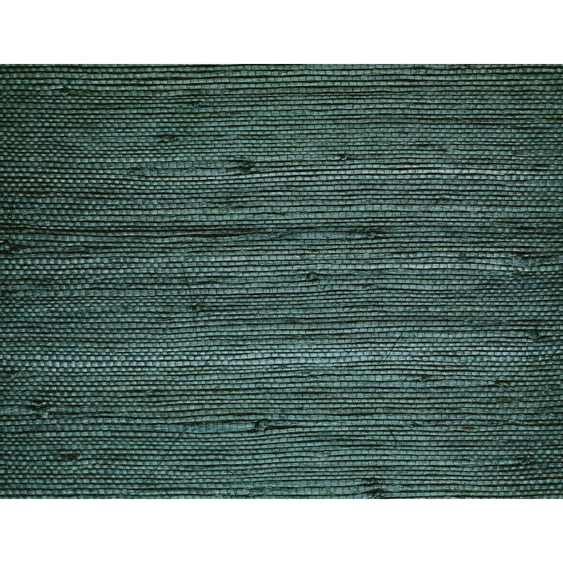 Washington Wallcoverings D 30136 Cool Teal Sisal Grasscloth