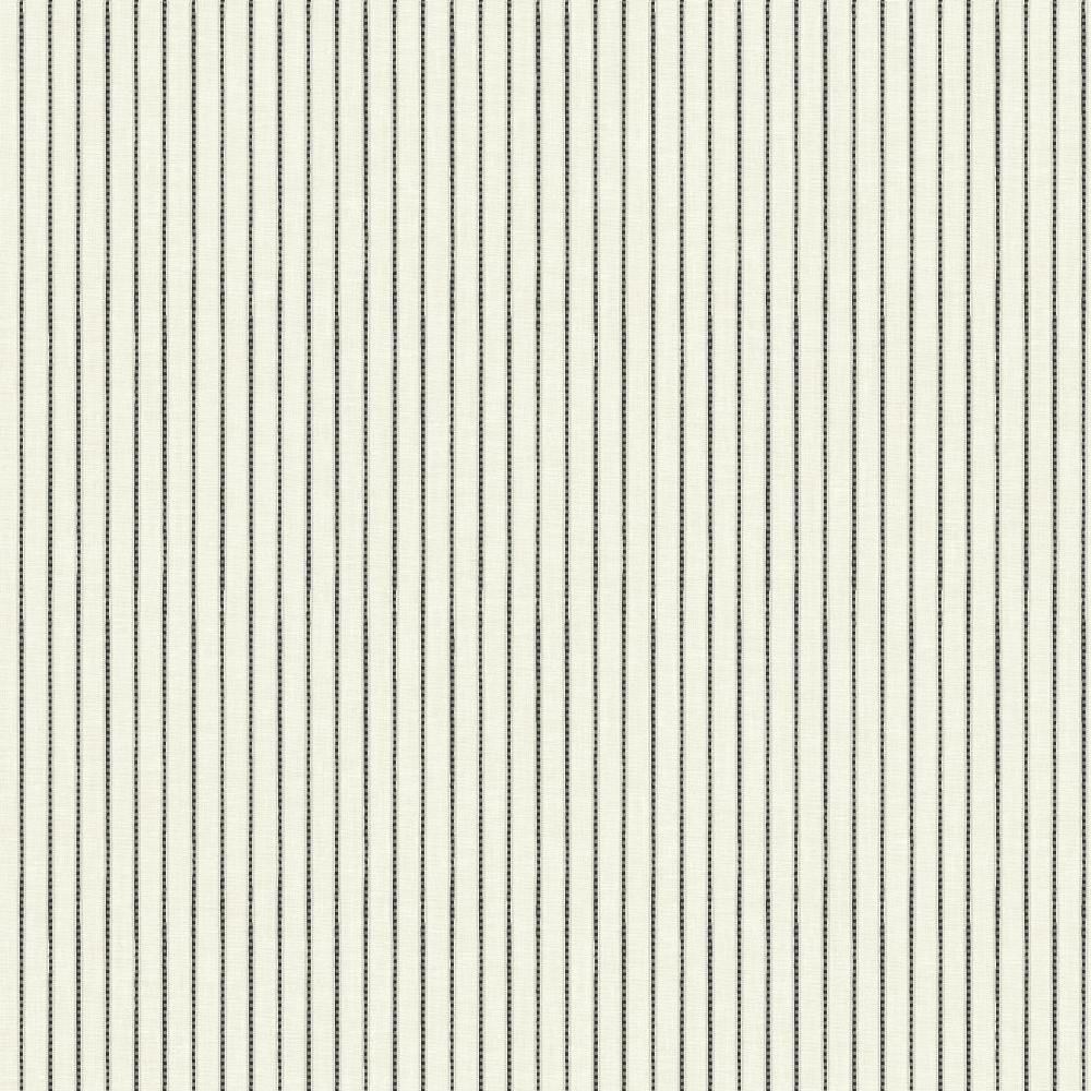 Waverly by York ER8207 Waverly Stripes Highwire Stripe Wallpaper in off-white, black