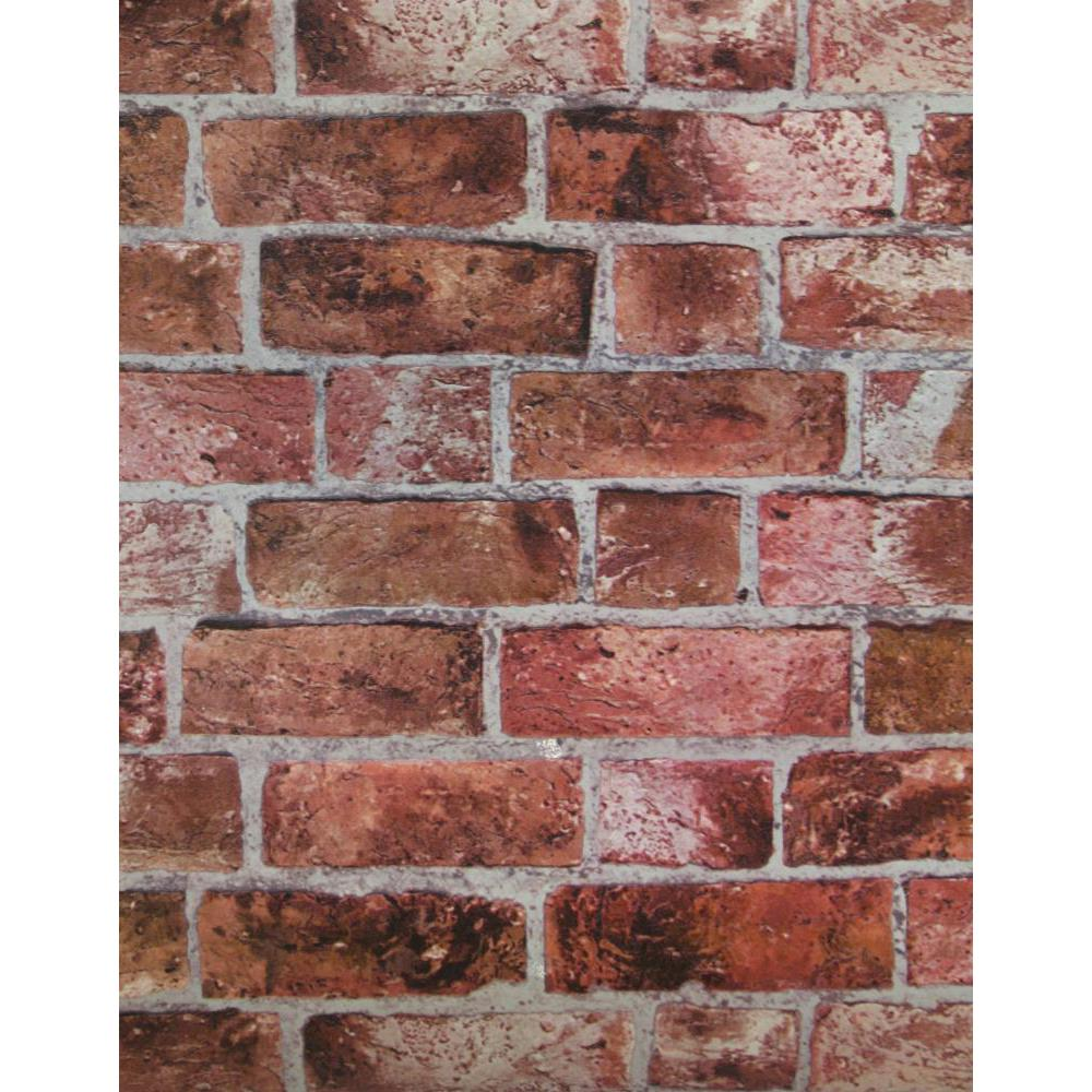 York Wallcoverings HE1044 Modern Rustic Brick Wallpaper