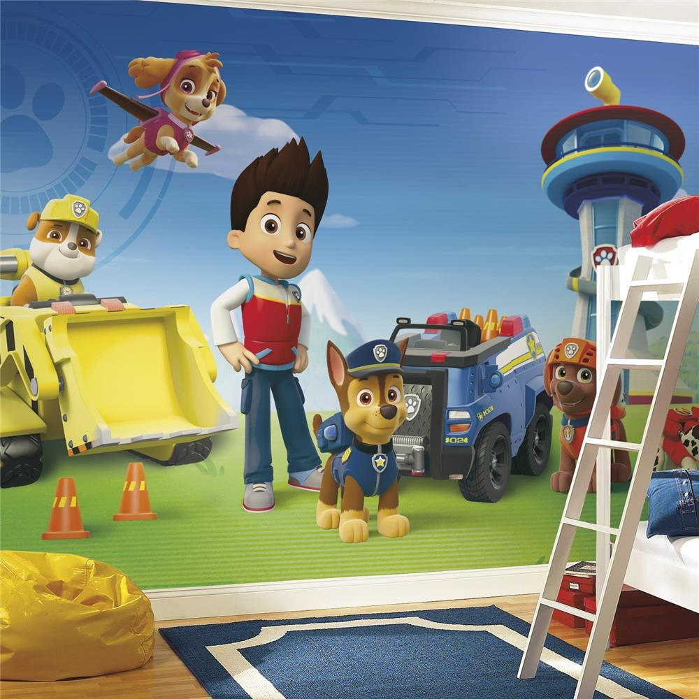 RoomMates by York JL1341M Paw Patrol Xl Chair Rail Prepasted Mural 6