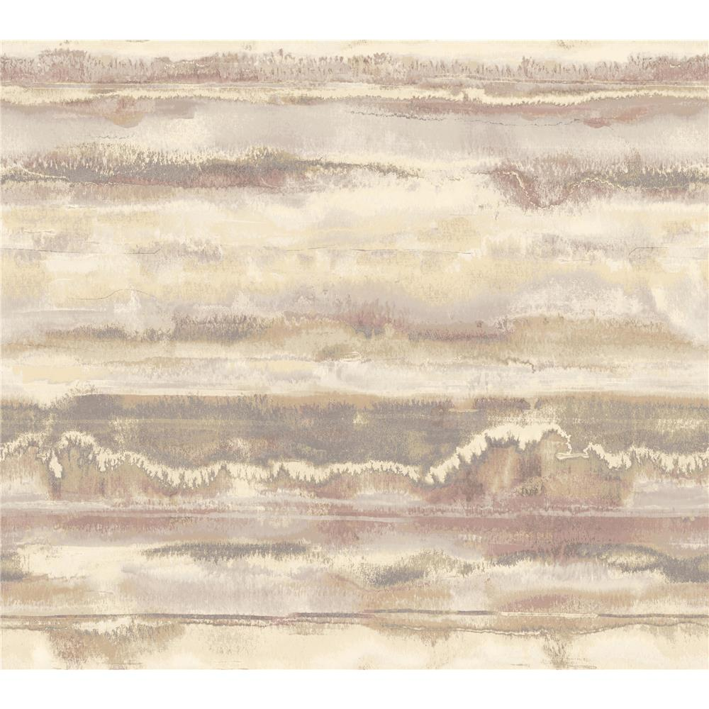 Candice Olson by York NA0535 High Tide Wallpaper in Purple