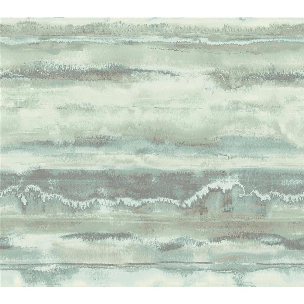 Candice Olson by York NA0536 High Tide Wallpaper in Blue