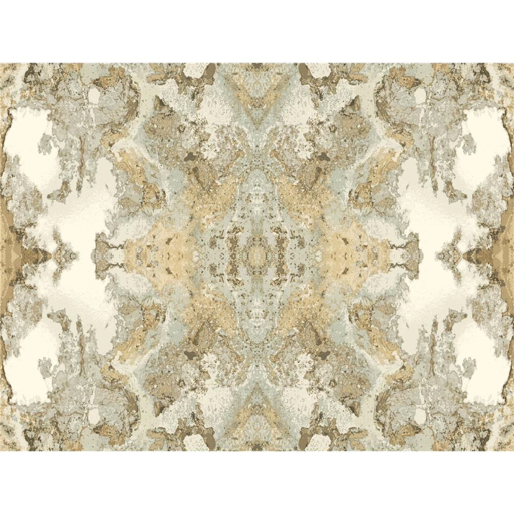 Candice Olson by York NA0594 Inner Beauty Wallpaper in Light Grey