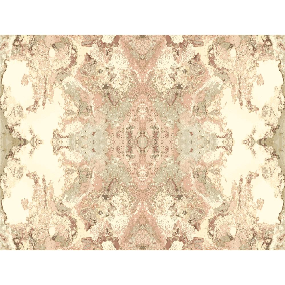 Candice Olson by York NA0595 Inner Beauty Wallpaper in Pink