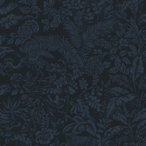 York Wallcoverings ON1625 Outdoors In Botanical Sanctuary Wallpaper