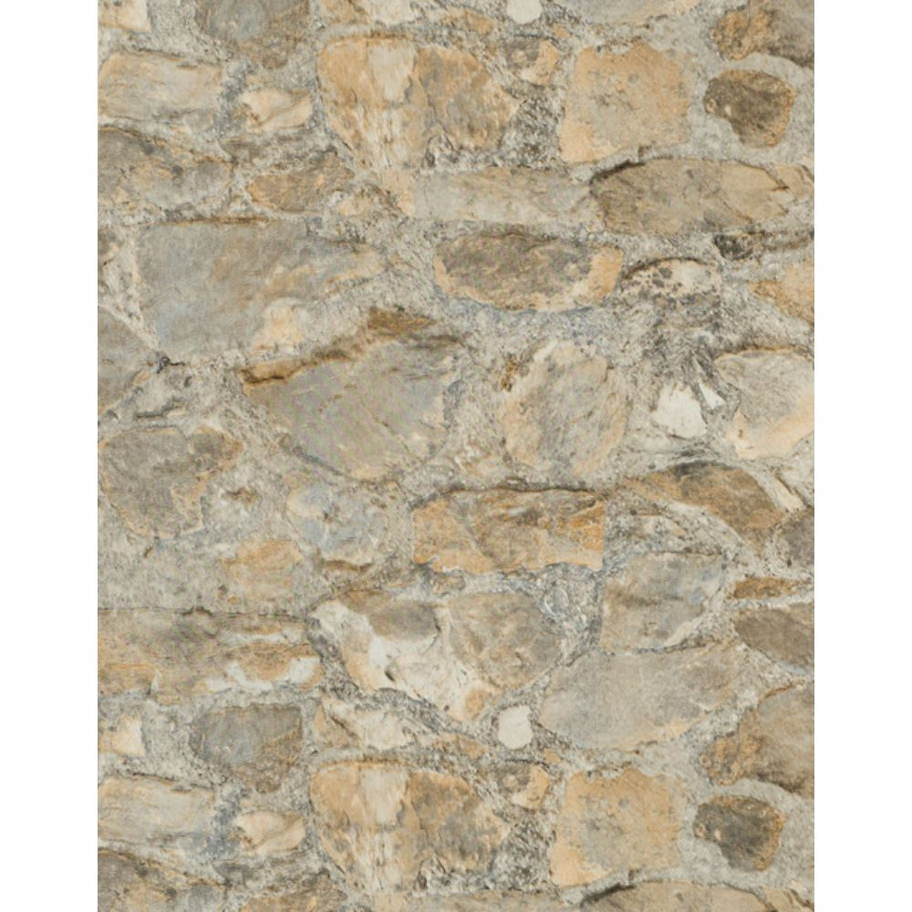 York Wallcoverings PA130904LW Outdoors In Field Stone Grasscloth Wallpaper