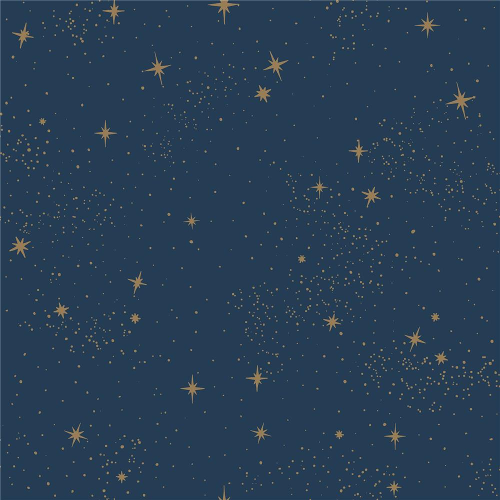 RoomMates by York RMK11319WP Upon A Star Peel & Stick Wallpaper In Navy
