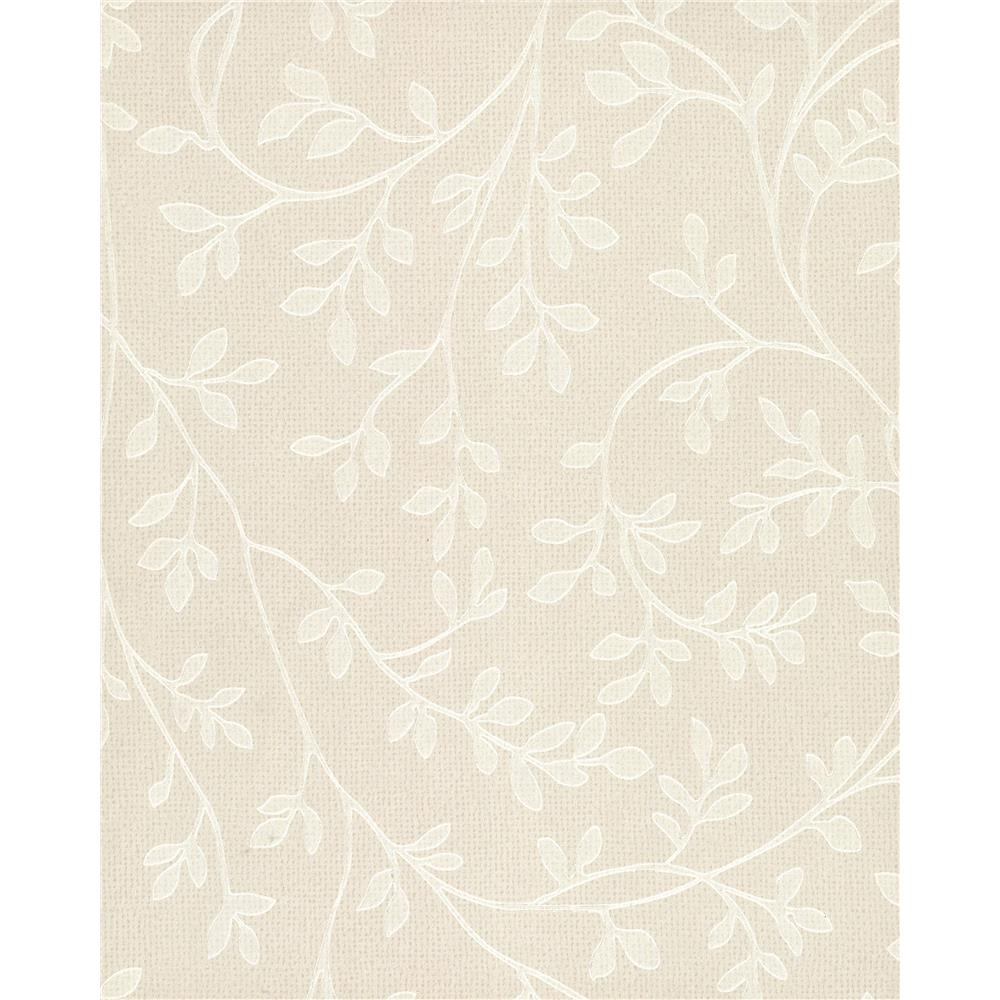 750 Home by York TN0022 Leaf Vine Wallpaper - Iridescent