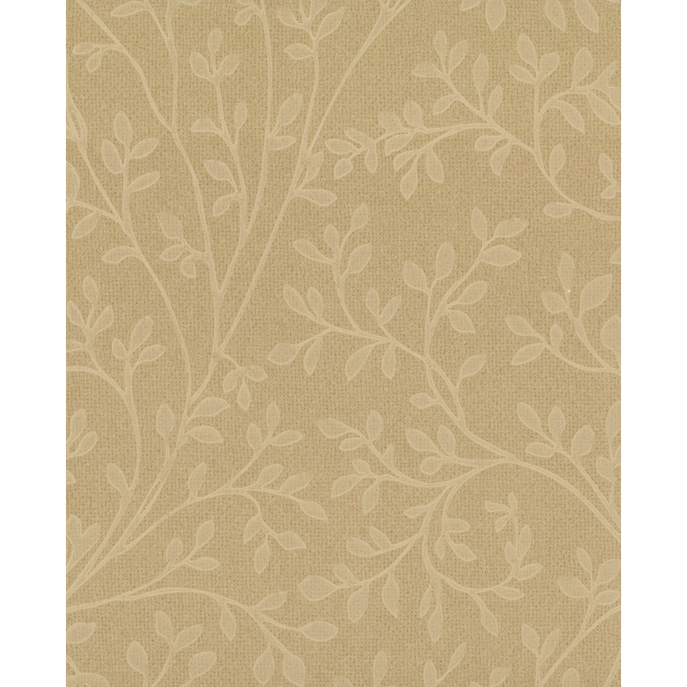 750 Home by York TN0025 Leaf Vine Wallpaper - Gold