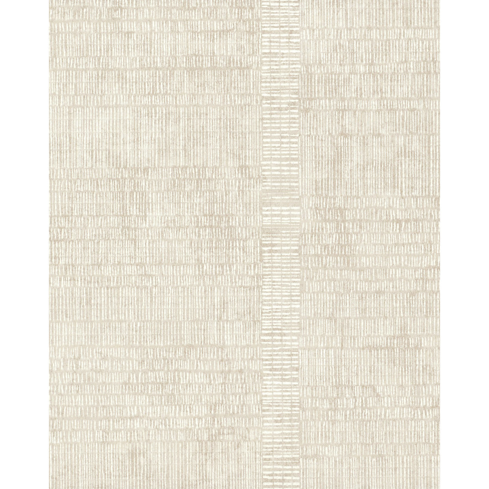 750 Home by York TN0028 Woven Stripe Wallpaper - Ivory