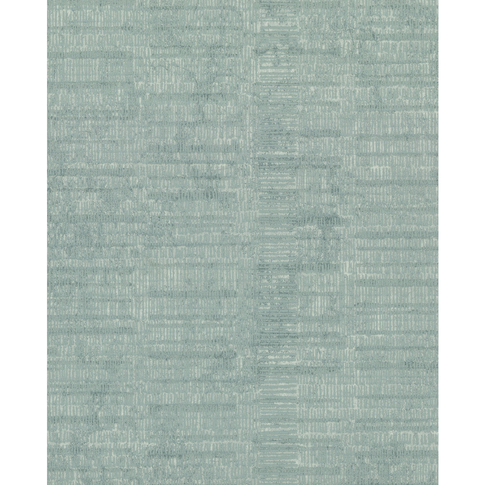 750 Home by York TN0031 Woven Stripe Wallpaper - Teal