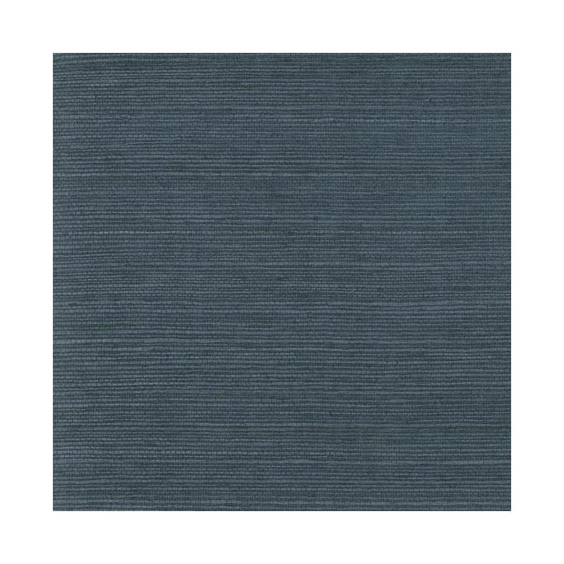 York VG4405 Plain Grass Wallpaper - Indigo