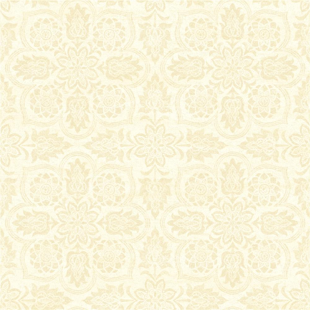 York WC7500 Waverly Classics II Curators Gem Removable Wallpaper in Beiges/White/Off Whites