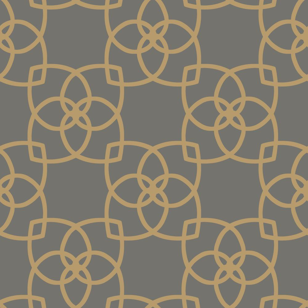 York Designer Series Y6200204 Dazzling Dimensions Serendipity Charcoal Gold Grey Gray