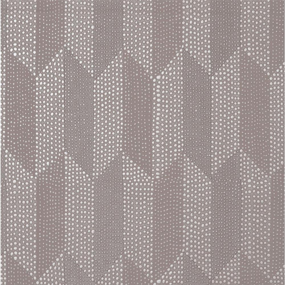 York Wallcoverings Y6220105 Mid Century Cosmopolitan Wallpaper - Dark Oyster