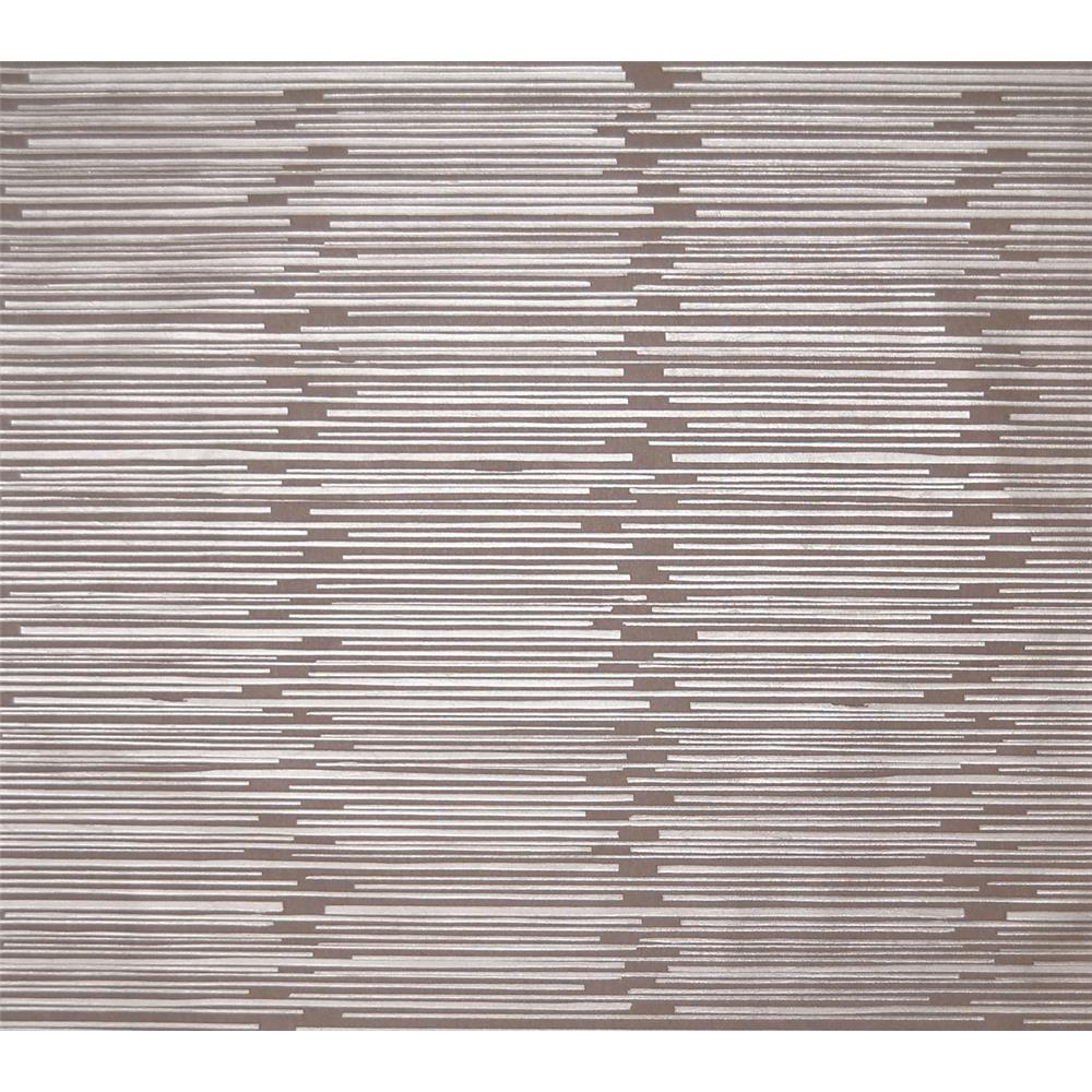 York Wallcoverings Y6220304 Mid Century Split Level Wallpaper - Taupe