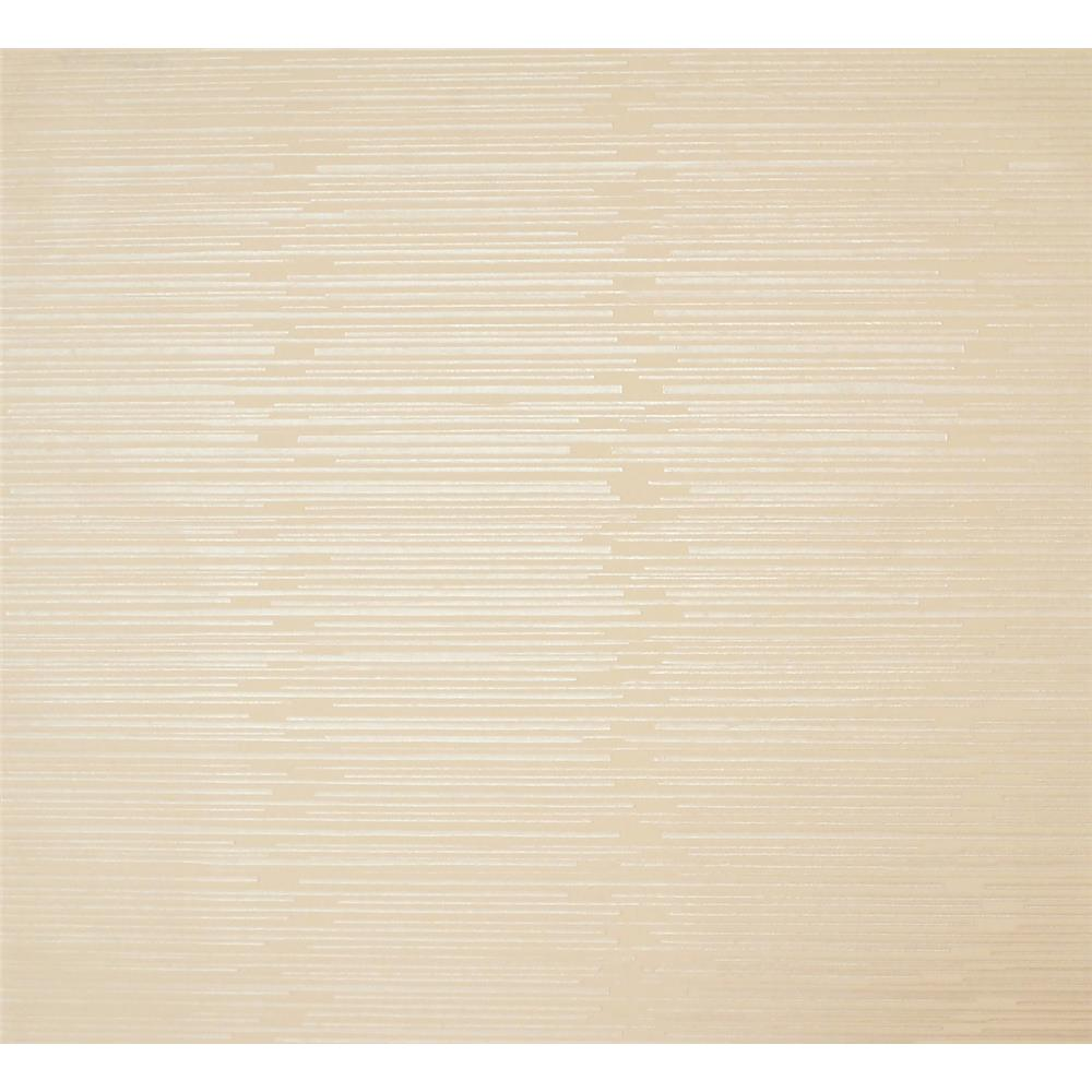 York Wallcoverings Y6220306 Mid Century Split Level Wallpaper - Warm Beige