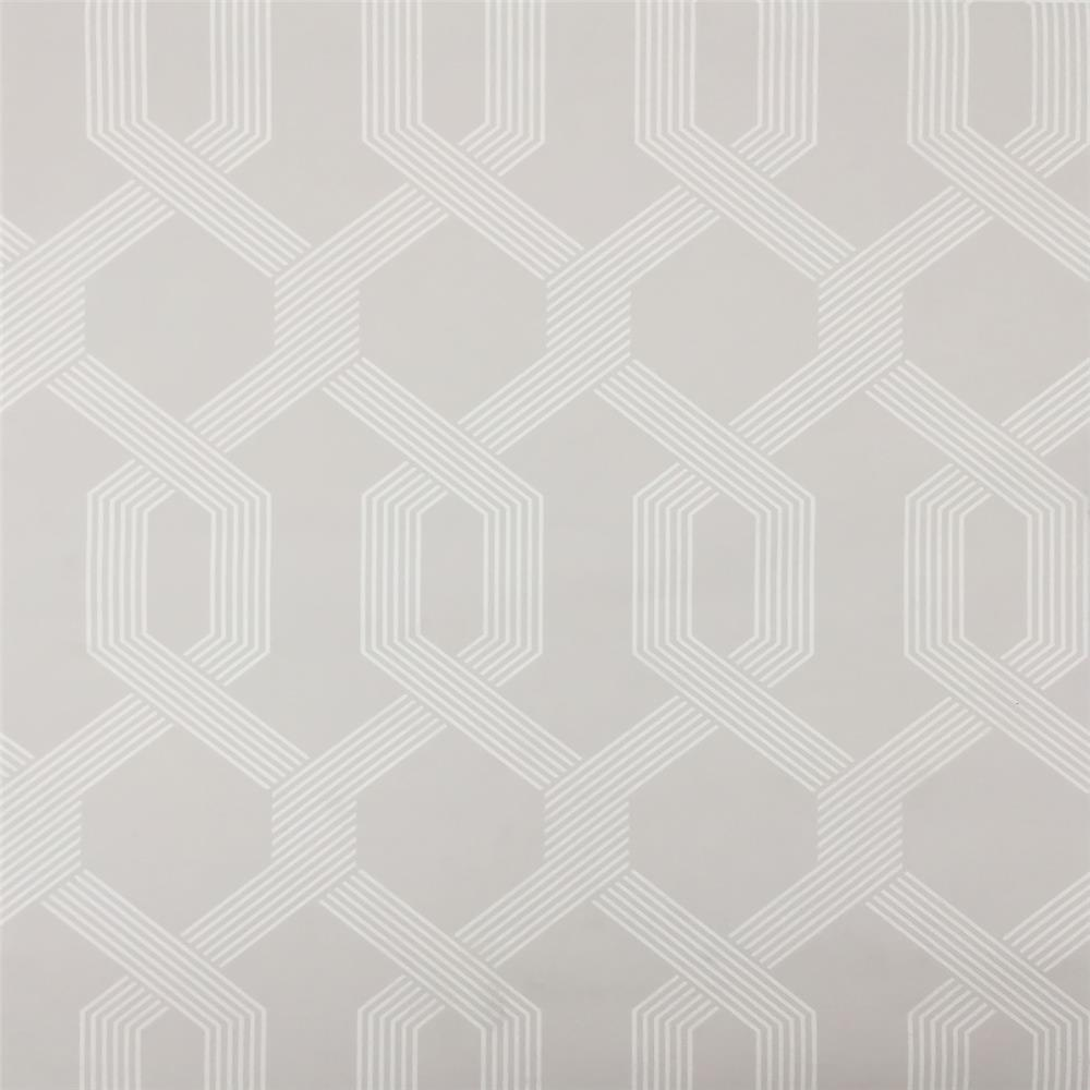 York Wallcoverings Y6221206 Mid Century Viva Lounge Wallpaper - Light Grey/White