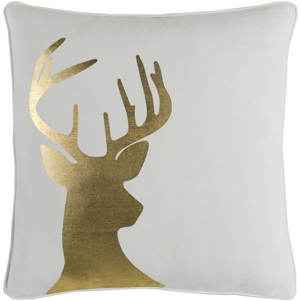 Artistic Weavers HOLI7250 Holiday Deer Pillow Cover 18