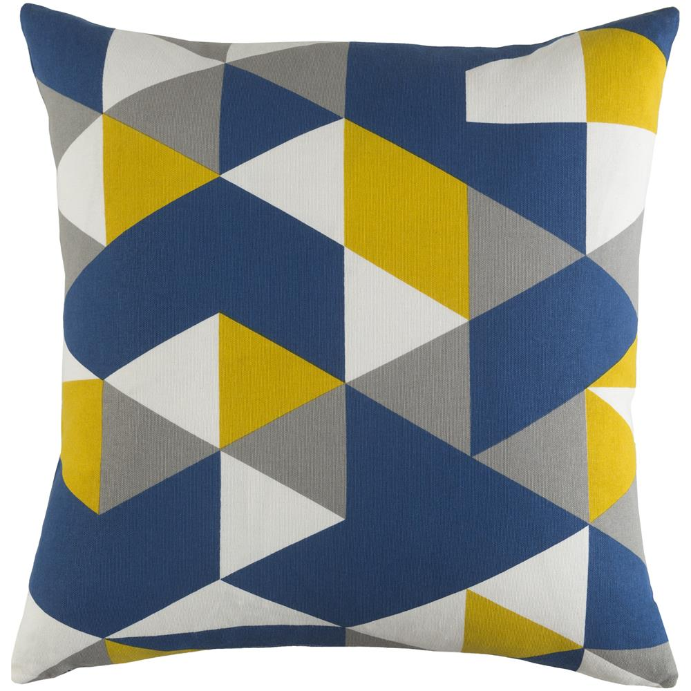 Artistic Weavers TRUD7145 Trudy Geometry Pillow Cover and Down Insert 18