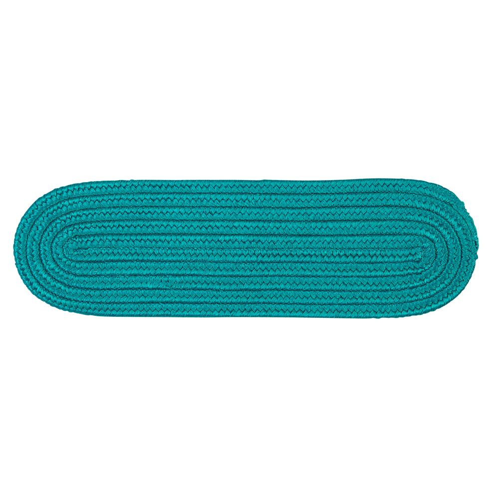 Colonial Mills BR56A008X028 Boca Raton - Turquoise Stair Tread (set 13)