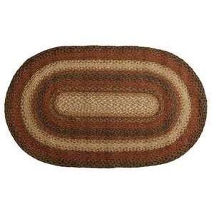 "Homespice Décor 590046 4"" Russet Jute Braided Coaster"