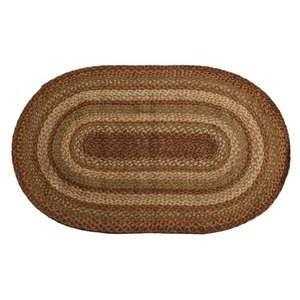 "Homespice Décor 590077 4"" Harvest Jute Braided Coaster"