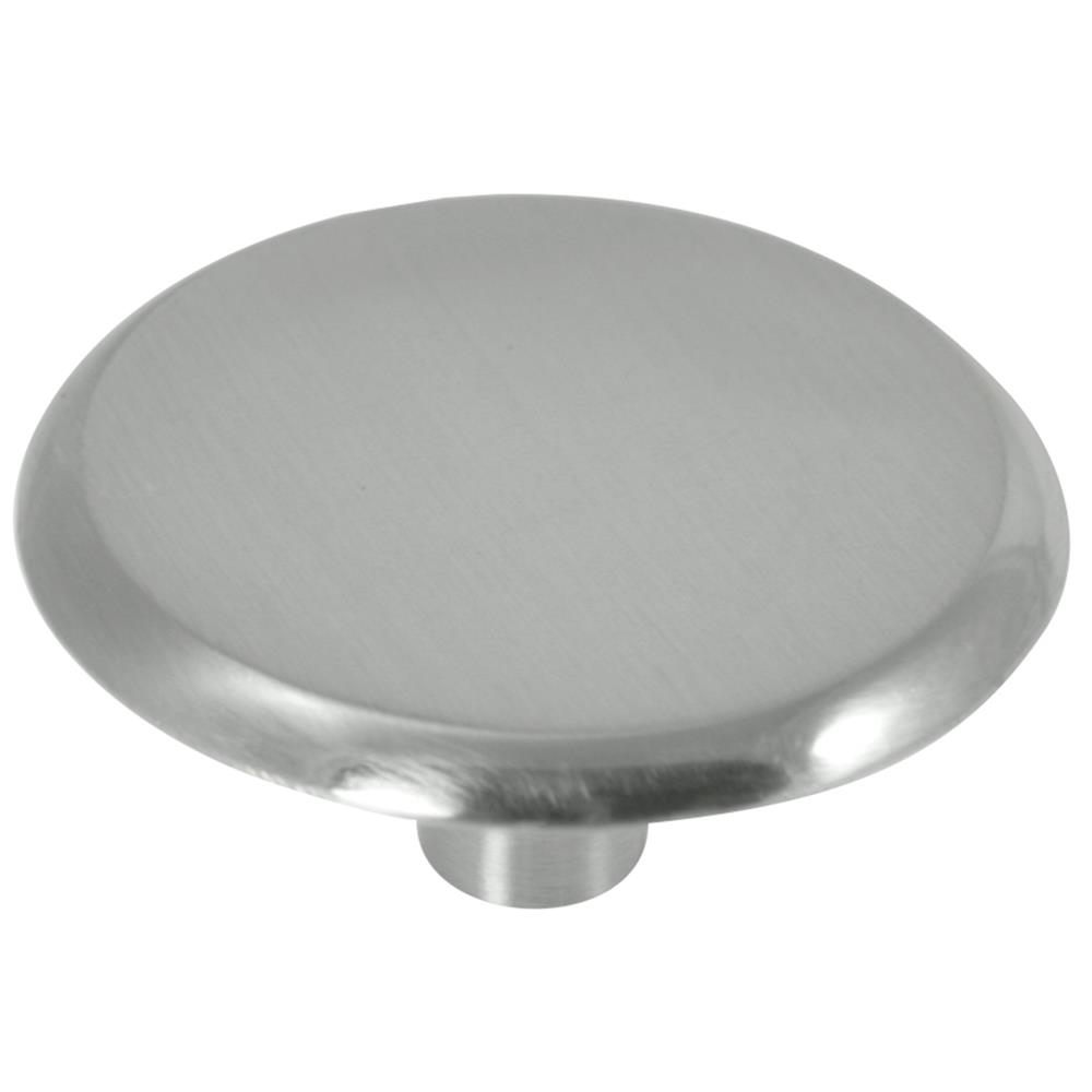 "Laurey 20359 1 3/4"" Knob - Modern - Satin Nickel"
