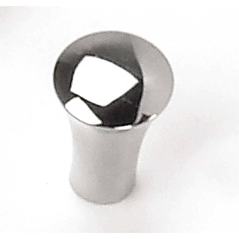 "Laurey 26426 5/8"" Delano Tapered Cone Knob - Polished Chrome in the Delano collection"