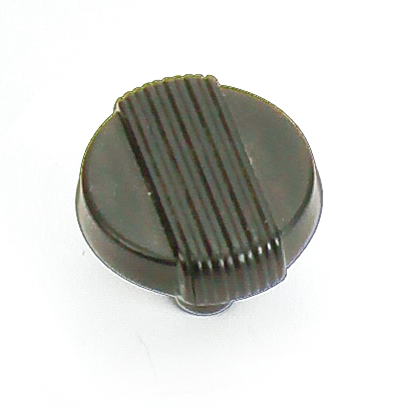 "Laurey 39020 1 1/4"" Wired Knob - Iron Black in the Wired collection"