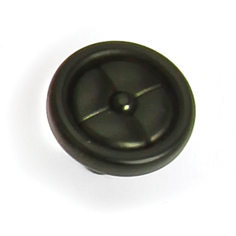 "Laurey 39620 1 1/4"" Paris Knob - Iron Black in the Paris collection"