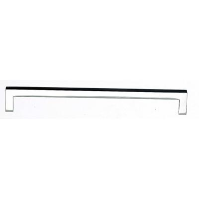 "Top Knobs M1154 Square Bar Pull 8 13/16"" (c-c) - Polished Chrome"
