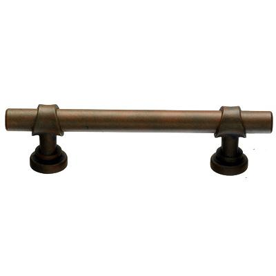 "Top Knobs M1198 Bit Pull 3 3/4"" (c-c) - Patina Rouge"