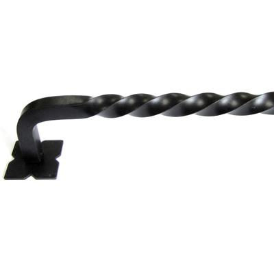 "Top Knobs M1246-30 Normandy Twist Appliance Pull 30"" (c-c) - Patina Black"