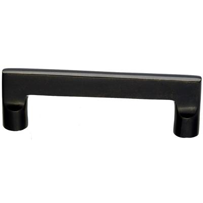"Top Knobs M1362 Aspen Flat Sided Pull 4"" (c-c) - Medium Bronze"