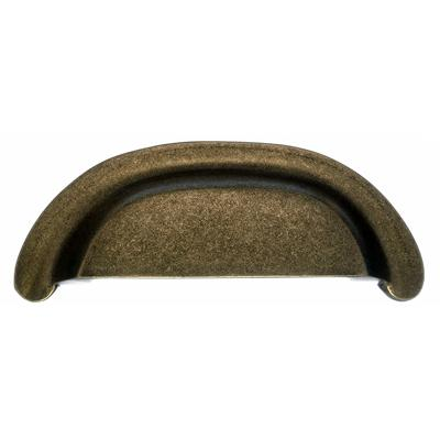 "Top Knobs M1411 Aspen Cup Pull 3"" (c-c) - Light Bronze"